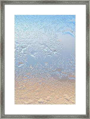Good Morning Ice Framed Print