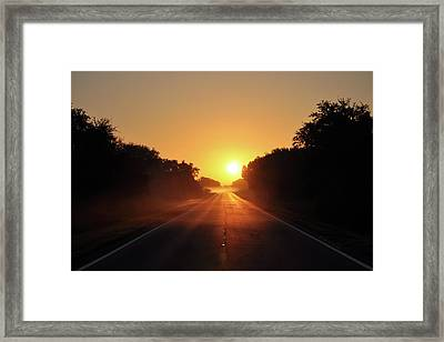 Good Morning Framed Print by John Knapko