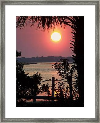 Good Morning Framed Print by Karen Wiles