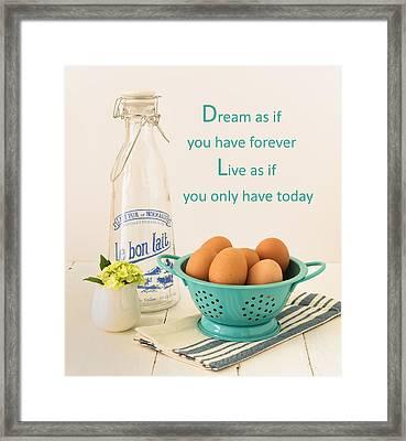 Good Morning Framed Print by Kim Hojnacki