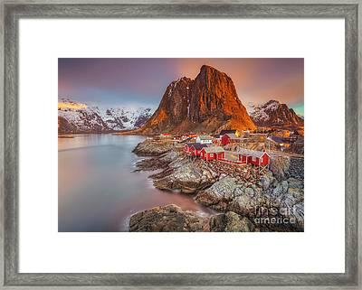 Good Morning Lofoten II Framed Print