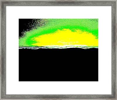 Good Morning Framed Print by Marsha Heiken