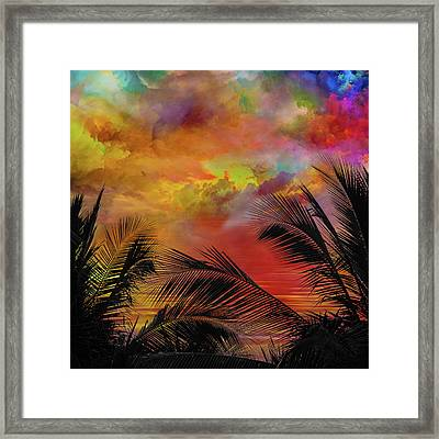 Good Morning Miami Framed Print by Mac Titmus