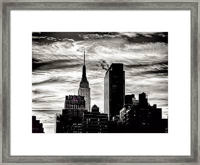 Good Morning Nyc Framed Print