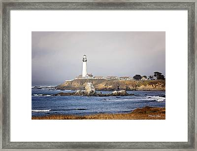 Good Morning Pigeon Point Framed Print