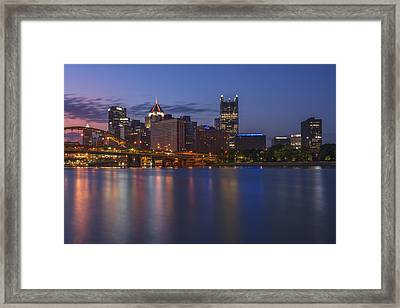 Good Morning Pittsburgh Framed Print by Rick Berk
