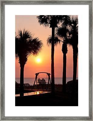 Good Morning Framed Print by Steven Sparks