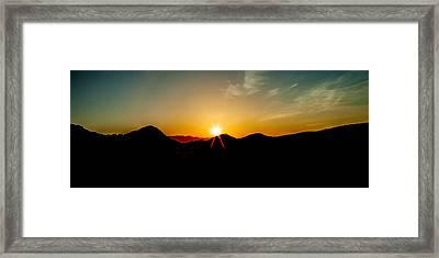 Good Morning Sunshine Framed Print by Az Jackson