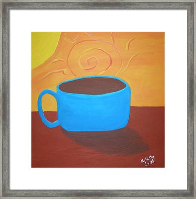 Good Morning Sunshine Framed Print