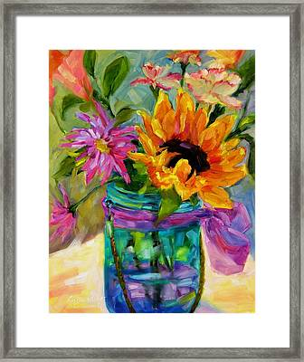 Framed Print featuring the painting Good Morning Sunshine by Chris Brandley