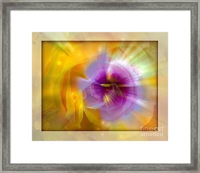 Good Morning Sunshine Framed Print by Chuck Brittenham