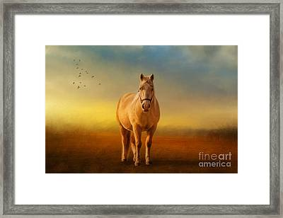 Good Morning Sweetheart Framed Print by Lois Bryan