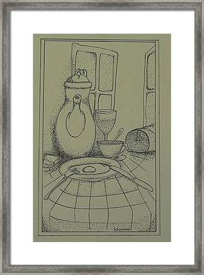 Good Morning  Framed Print by Thierry-guenand   DAUGENN-