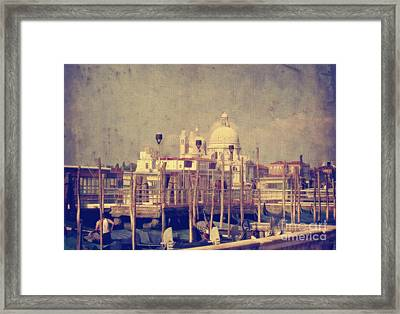 Good Morning Venice Framed Print