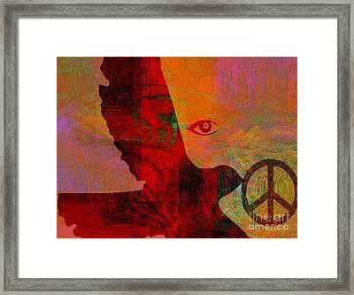 Good News Finally Framed Print by Fania Simon