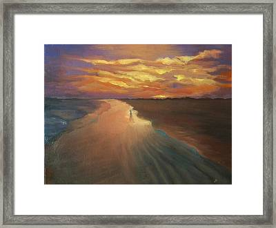 Good Night Framed Print