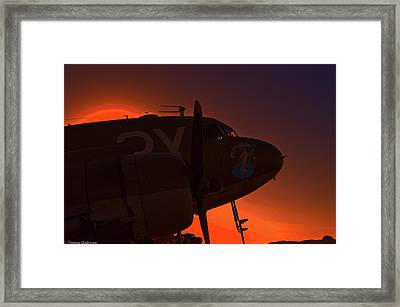 Good Night Doc Framed Print by Tommy Anderson