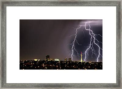 Framed Print featuring the photograph Good Night Everybody by Michael Rogers