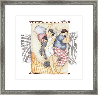 Good Night Sleep Tight Framed Print