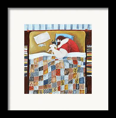 Quilt Framed Prints