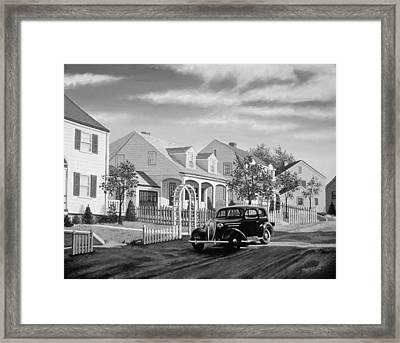 Good Ol Days Framed Print