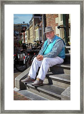 Good Old Days Framed Print