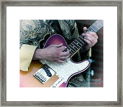 Good Old Rock And Roll Framed Print by Bob Christopher