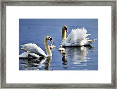 Good Parents Framed Print