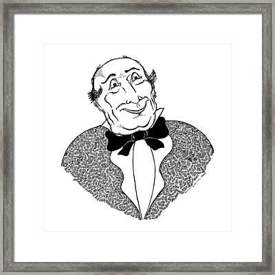 Good Sir Framed Print by Karl Addison