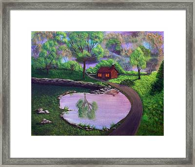 Good Spring Morning Framed Print