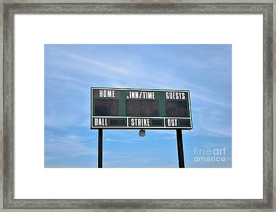 Framed Print featuring the photograph Good Times - Sports ...  by Ray Shrewsberry