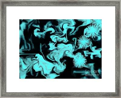 Good Vs Bad Framed Print by Marsha Heiken