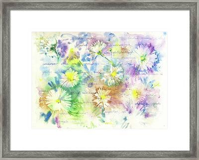 Good Wishes Framed Print by Cristiane Loff