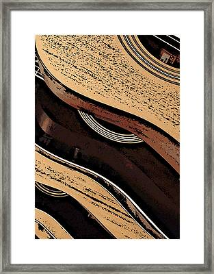 Good Wood Framed Print