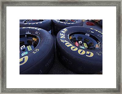 Good Year Tires Framed Print by Juergen Roth