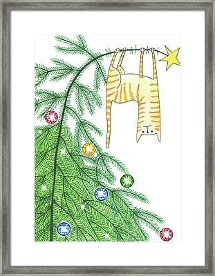 Goodbye, Christmas Tree  Framed Print