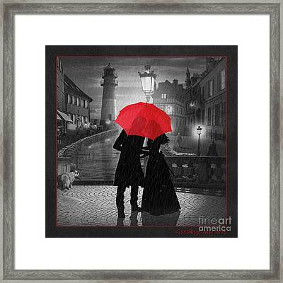 Goodbye My Love Framed Print by Monika Juengling