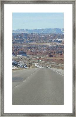 Goodbye Utah Framed Print