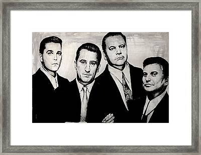 Goodfellas Framed Print