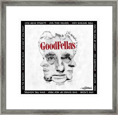 Goodfellas  Framed Print by Michael Spatola