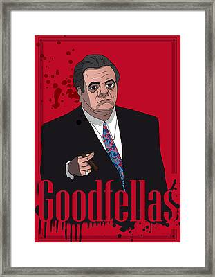 Goodfellas - Paul Framed Print