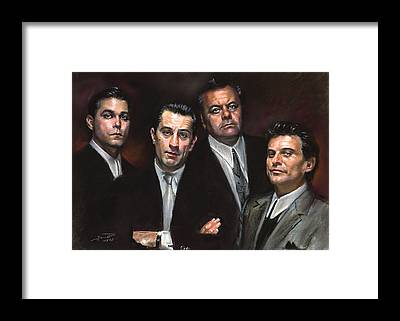 Robert De Niro Framed Prints
