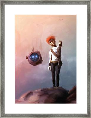 Goodkid Framed Print by Jamie Fox