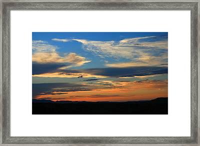 Goodnight Arizona Framed Print