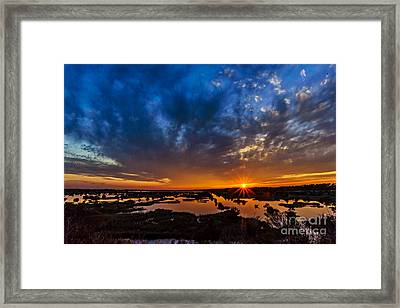 Goodnight Topsail Framed Print