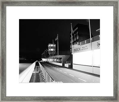 Goodwood Motor Circuit Framed Print by Robert Phelan