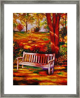 The Good Days Framed Print