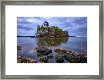 Googins Island Framed Print
