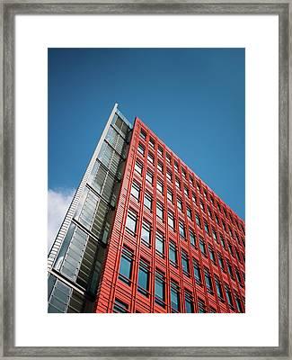 Framed Print featuring the photograph Google by Stewart Marsden