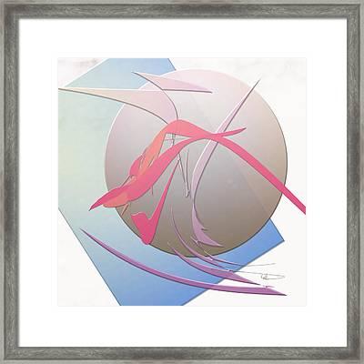 Goop Framed Print